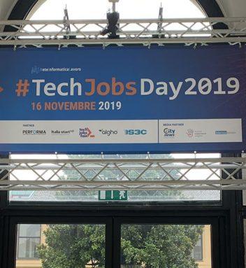 Buona la prima: ottima riuscita per il #TechJobsDay2019 a Milano