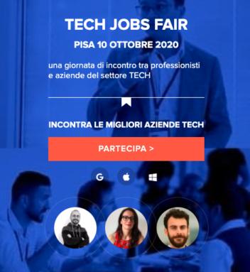 Aperte le iscrizioni per i workshop gratuiti al TJfair2020 Pisa